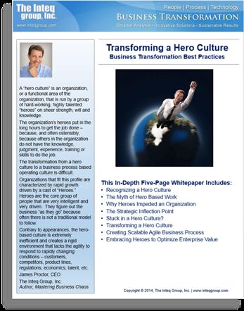 Transforming a Hero Culture