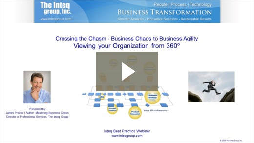 Business Chaos to Business Agility Viewing your Organization from 360⁰