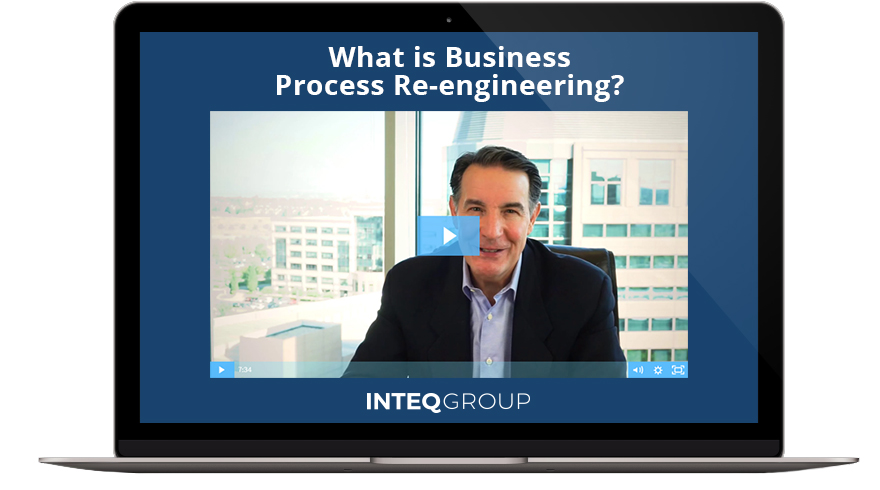 Business Process Reengineering with Inteq Group and Business Analyst Process Modeling Video